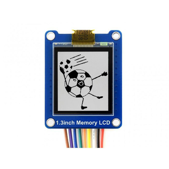 Bicolor LCD 1.3-inch with SPI Interface (144x168p)