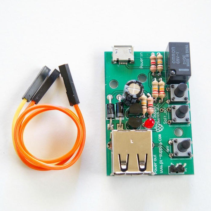 Power Switch (ON/OFF) for Raspberry Pi