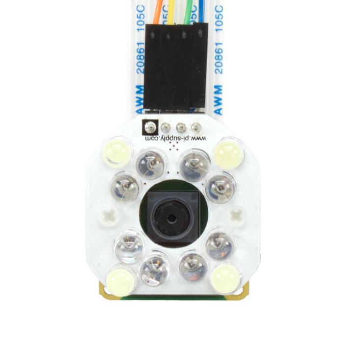 Bright White and IR Camera Light for Raspberry Pi