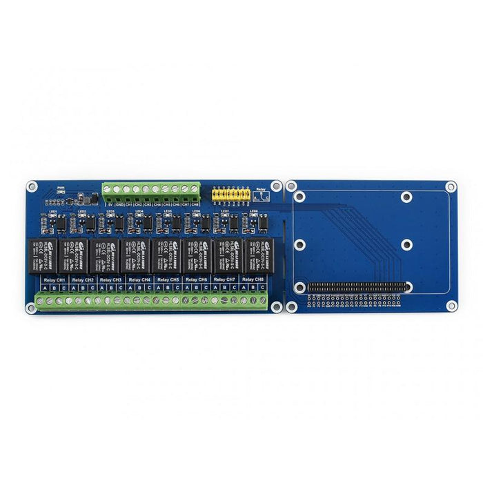 8-Channel Relay Expansion Board for Raspberry Pi and Jetson Nano