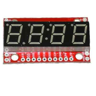 Sparkfun Digit 7 Segment Display Module with ATMega328