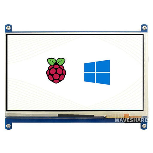1024x600p 7 inch Capacitive Touch Screen IPS LCD for Raspberry Pi and PC