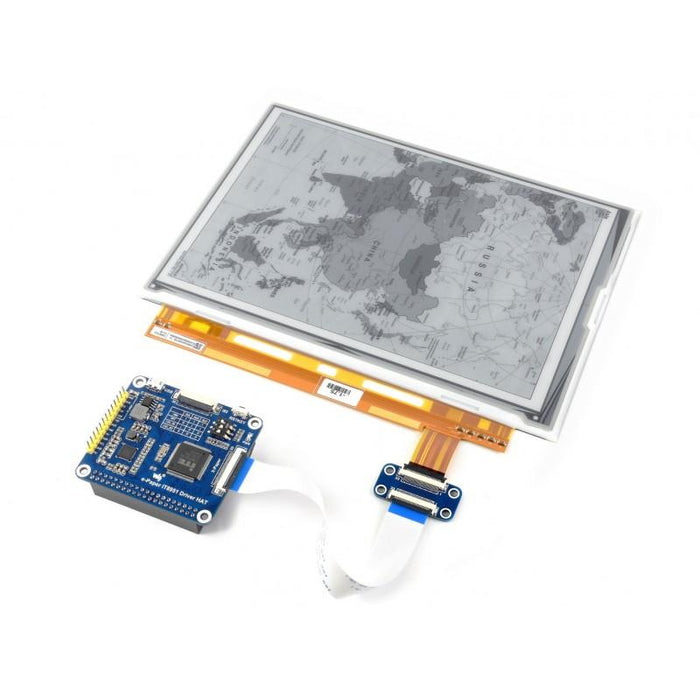1200x825p 9.7-inch E-Ink Display HAT for Raspberry Pi