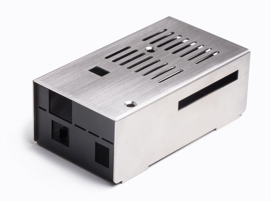 KKSB Arduino Case (Brushed Stainless Steel)