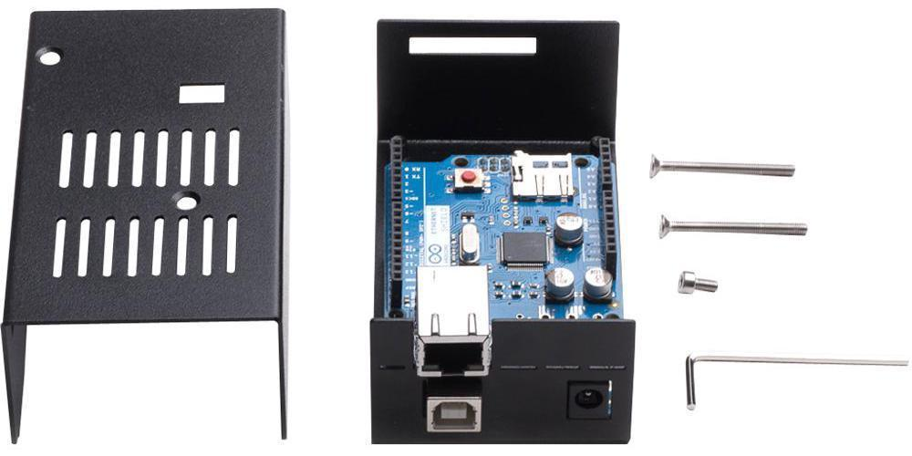 KKSB Arduino Metal Project Case (Black)