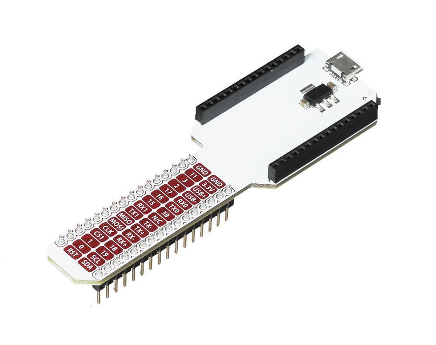 Breadboard Dock For Onion Omega