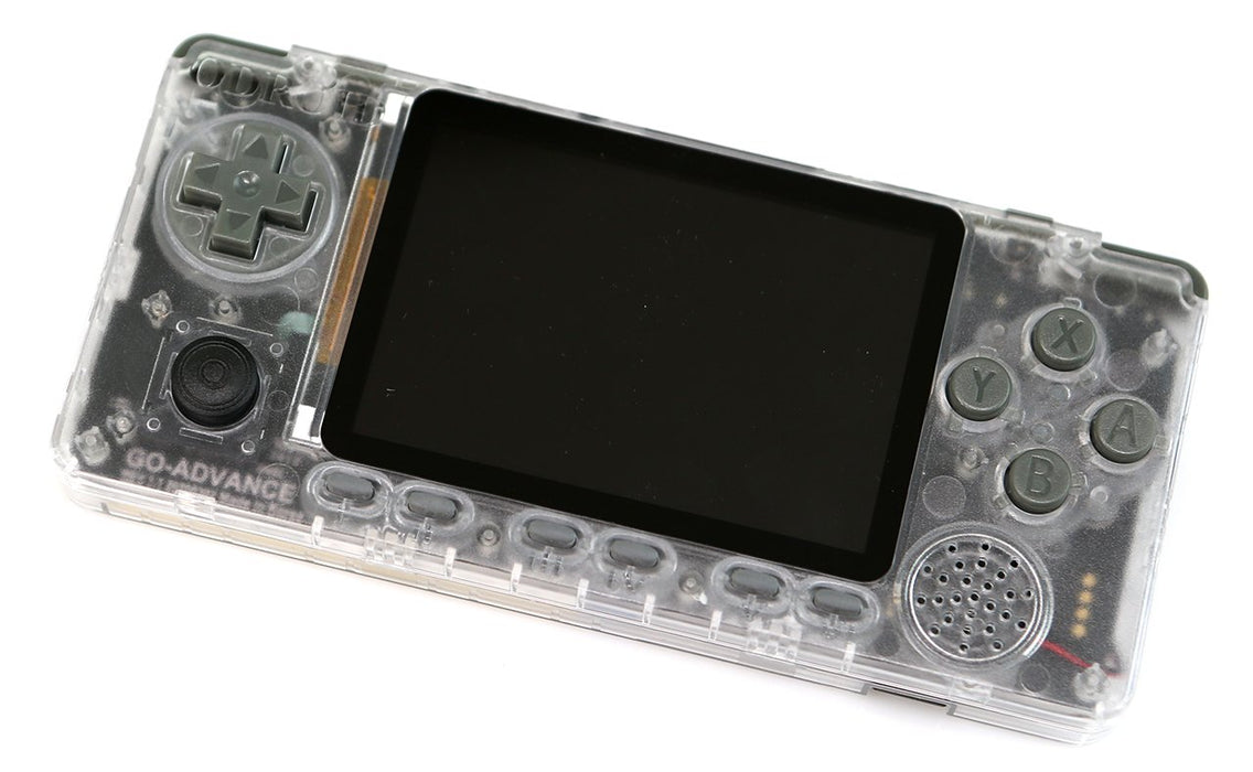 ODROID GO Advance Black Edition with Clear Transparent Case