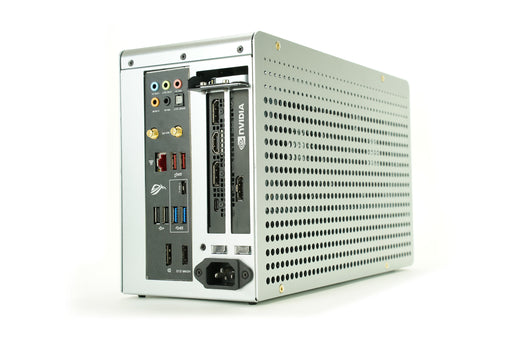 KKSB K1 Mini ITX Case - Silver Colour