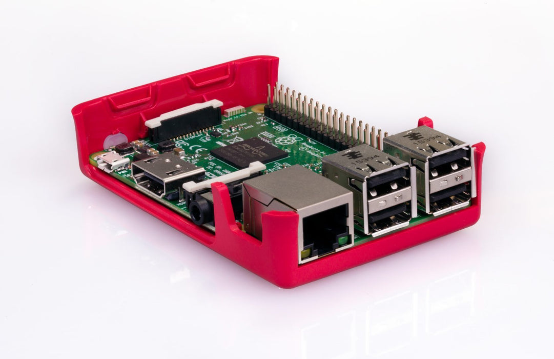 Officiella Raspberry Pi 3 Chassit