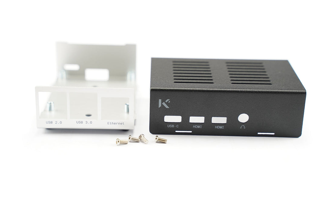 KKSB Raspberry Pi 4 Case Black / Silver