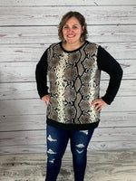 Snake Skin Tunic (also available in Plus)