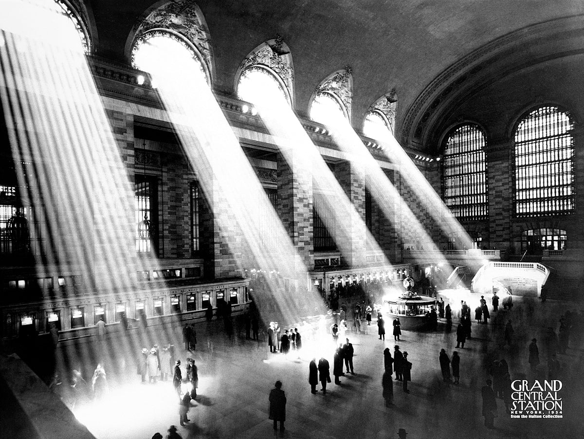 Kurt Hulton - Grand Central Station