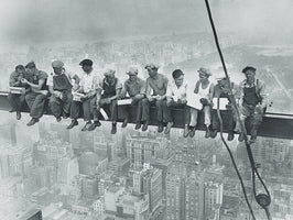 Charles Ebbets - Lunchtime atop Skyscraper