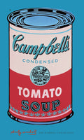 Andy Warhol - Campbell's Soup pink+red