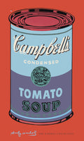 Andy Warhol - Campbell's Soup blue+purple
