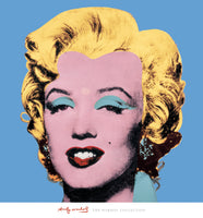 Andy Warhol - Shot - Blue Marilyn