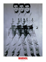 Andy Warhol - Elvis,1963 Triple
