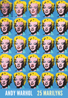 Andy Warhol - 25 Colored Marilyns