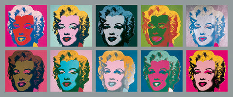 Andy Warhol - Ten Marilyns, 1967