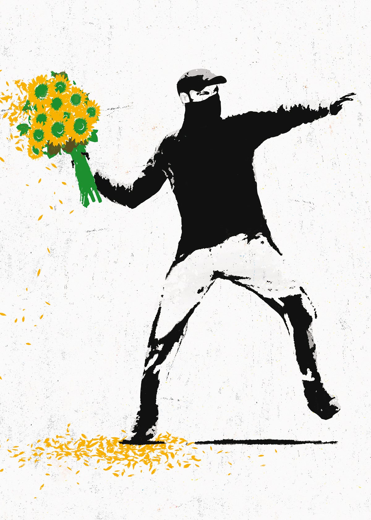 Edition Street Art - Flower thrower