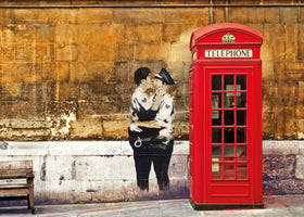 Edition Street Art - Red Telephone Box