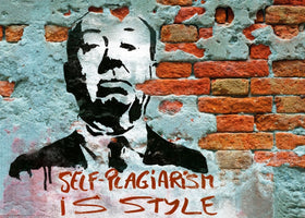 Edition Street Art - Self-Plagiarism is style