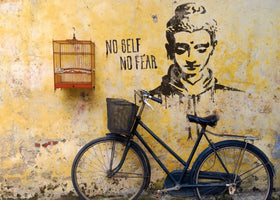 Edition Street Art - No self no fear
