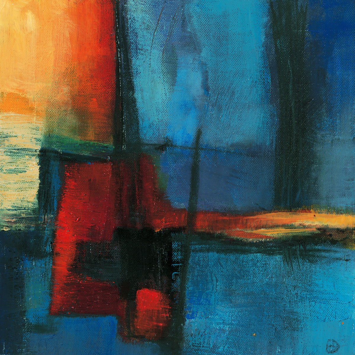 Bea Danckaert - Abstract Night