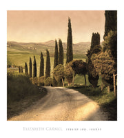 Elisabeth Carmel - Country Lane, Tuscany