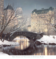 Rod Chase - Twighlight in Central Park