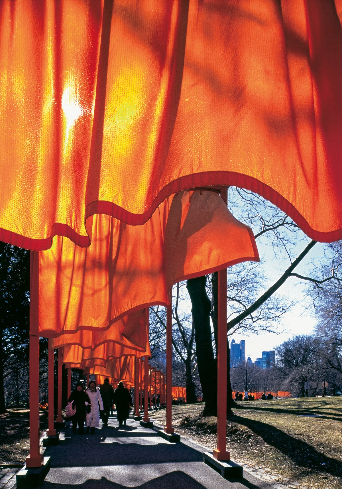Christo & J.C. - The Gates Nr.51 von W. Volz