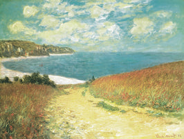 Meadow Road to Pourville, 1882