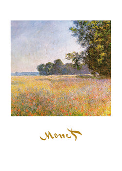 Claude Monet - Oat Fields