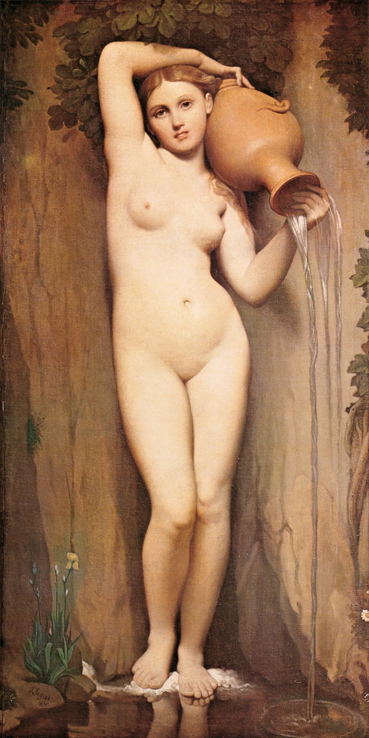 Dominique Ingres - La Source