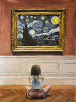 Escha Van den Bogerd - Watching Starry Night I