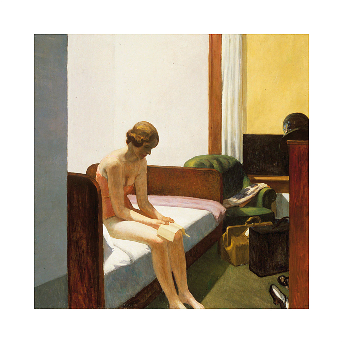 Edward Hopper - Hotel room, 1931