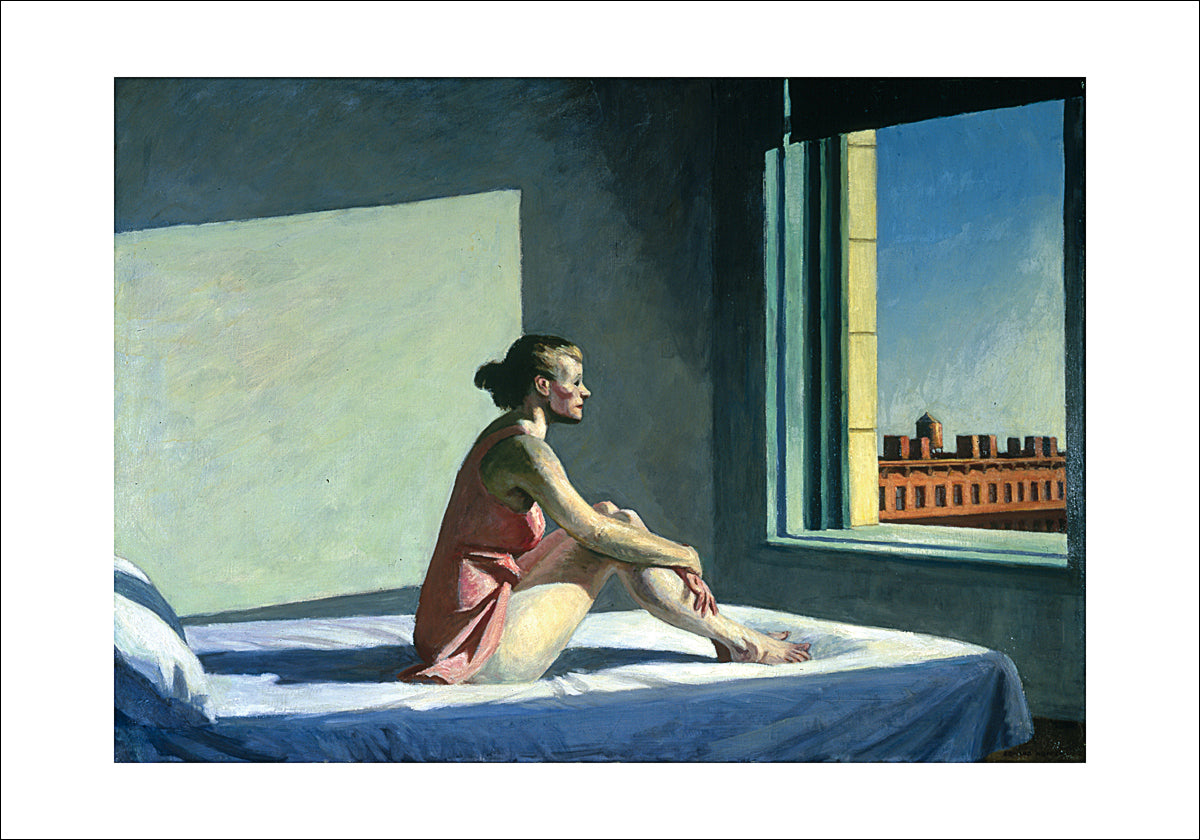 Edward Hopper - Morgensonne, 1952