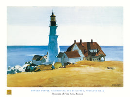 Edward Hopper - Lighthouse and Buildings