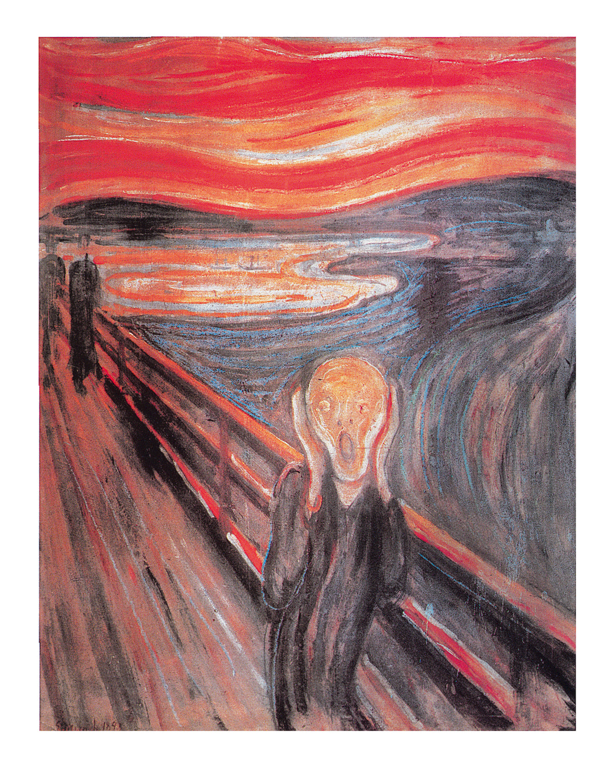 Edvard Munch - The Cry