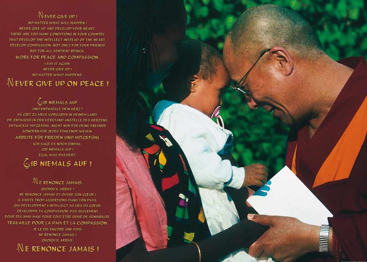 Johannes Frischknecht - Dalai Lama with Child