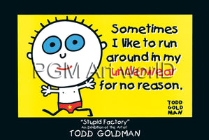 Todd Goldman - Sometimes I like to run