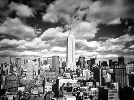 Henri Silberman - Sky over Manhattan
