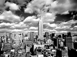 Henri Silberman - Sky over Manhatten