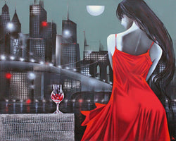Ira Tsantekidou - Moon night in Megapolis