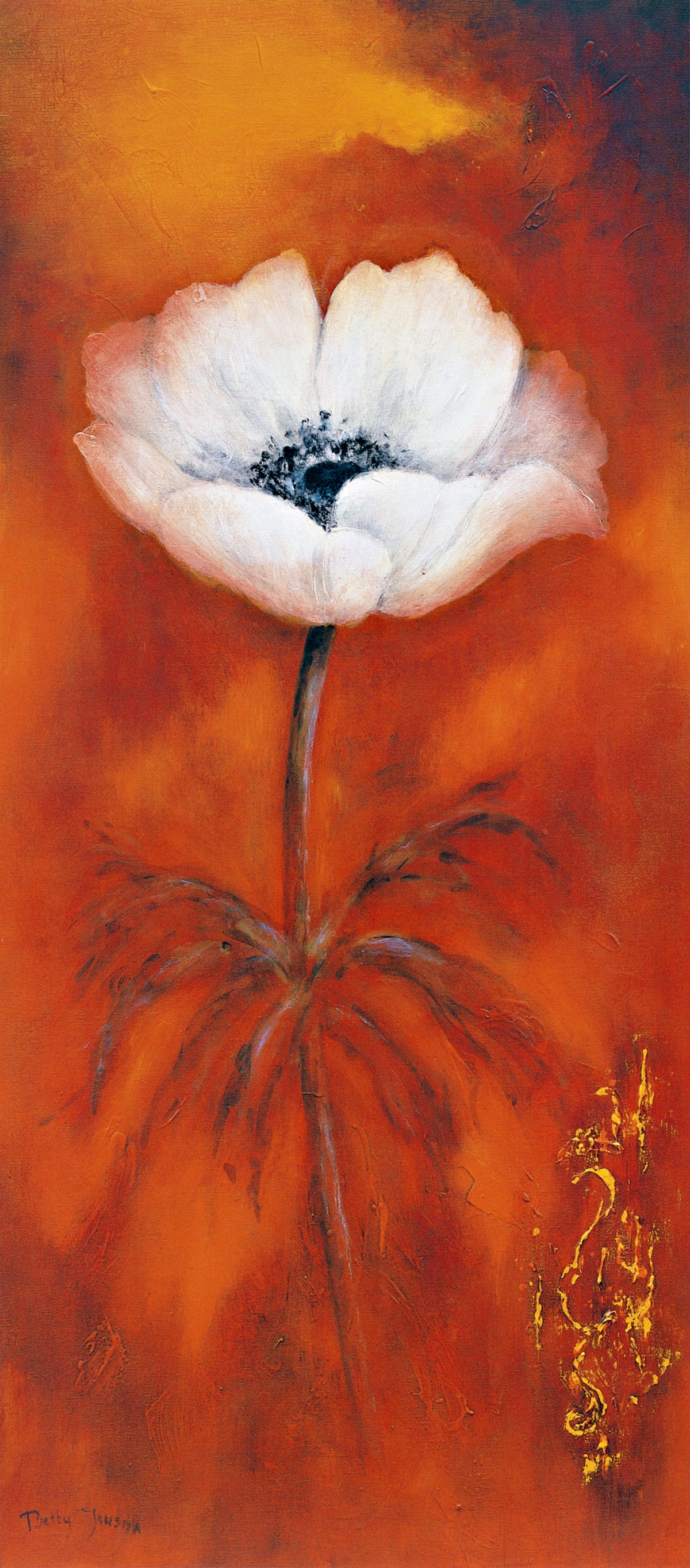 Betty Jansma - Anemone II