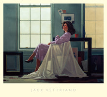 Jack Vettriano - Winter Light and Lavender