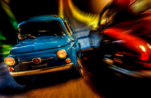 Jean-Loup Debionne - Cars in action - Fiat 500M