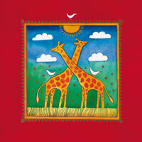 Linda Edwards - Two little giraffes
