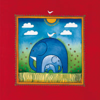 Linda Edwards - Three little elephants