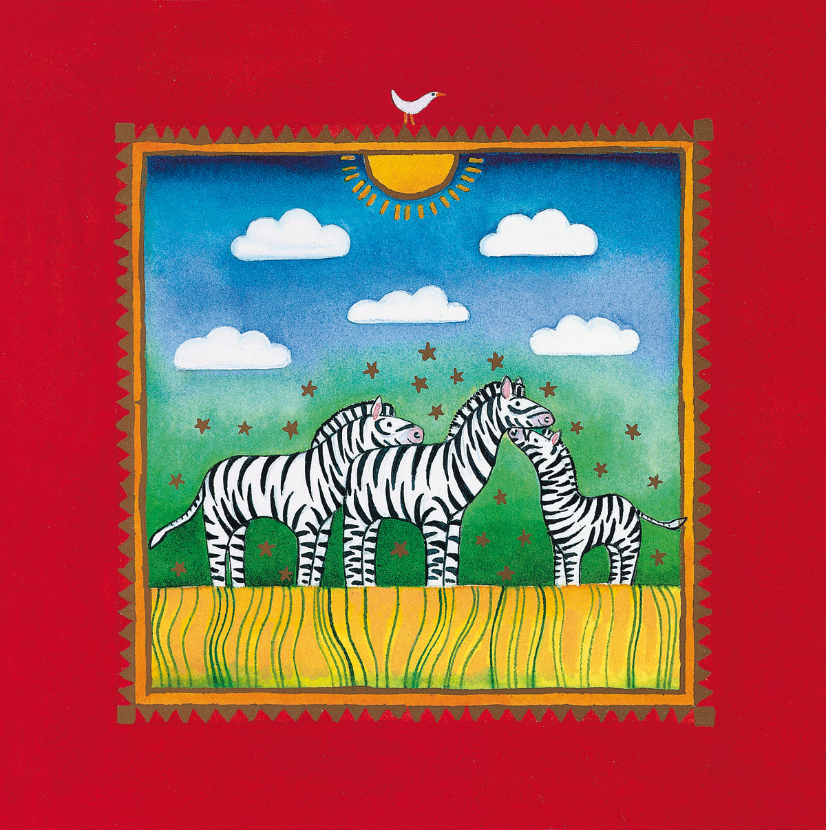 Linda Edwards - Three little zebras